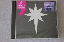 David Bowie - No Plan CD  POLISH Stickers