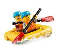 LEGO City Dinghy Boat Raft Kayak & 2 Minifigures Train Town Scenery 60197 60198