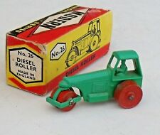 BUDGIE - MODERN VEHICLE SERIES - No 26 - DIESEL ROAD ROLLER - MINT AND BOXED
