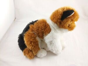 GANZ Webkinz Signature Calico Cat Plush Stuffed Animal *USED - NO CODE*