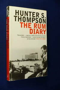 THE RUM DIARY Hunter S Thompson BOOK Paperback