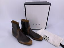 Neu Original GUCCI-367755-Men`s Boots Herren Stiefel Gr-UK8,5-IT42,5-US9,5