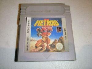 Metroid II 2 Return of Samus Nintendo Game Boy