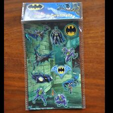DC Batman Glow in the dark sticker set AS IS MIP