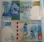 "BILLETE "" HONG KONG "" 20 DOLARES AÑO 2010 UNC PLANCHA"