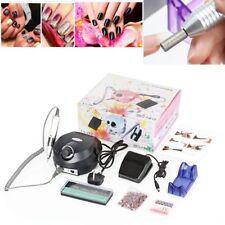 30000Rpm Electric Nail Art Drill Machine Manicure Sand Bits Acrylic Pedicure UK