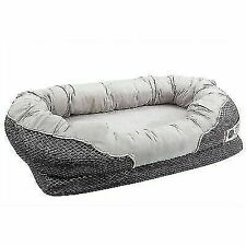 Large Orthopedic Dog Bed 40 X 30 Inches - Gray