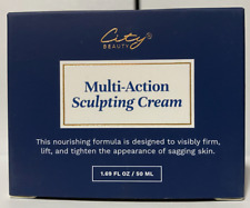City Beauty Multi-Action Sculpting Cream new and sealed