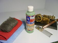 Gord's Aluminum Chrome Stainless Copper Brass/Cleaner-Polish-Sealer 8 FL OZ Kit
