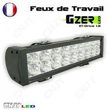 PHARE FEUX DE TRAVAIL 54W-18 LED-40CM 12-24V RAMPE D'ECLAIRAGE DE TOIT ALUMINIUM