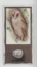 1936 Godfrey Phillips British Birds and Their Eggs Tobacco Base #39 Barn-Owl 0b0