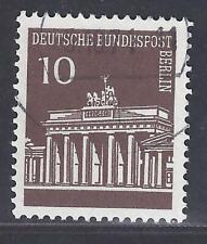 Berlin Rollenmarke Brandenburger Tor Berlinstempel Mi.Nr.286 R  Zähl Nr.255  A7