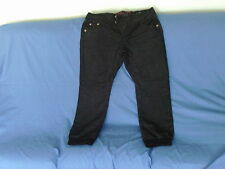 Mens Size 38 Short - Dark Blue Denim Designer Jeans - CRU-10