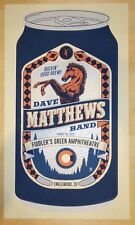 Dave Matthews Band Poster 8/29/2015 Englewood CO Signed by Artist of Print.