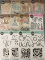 Sizzix Framelits Die Set w/stamps Lot to pick from
