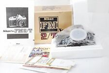 "Nikon FM2T(titanium) 35mm SLR Film Camera Body ""Rear Near Mint in Box"" #1139"