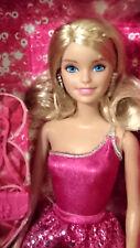 NRFB Poupée doll Barbie Paillette glitter rose glitz pop glamour BCN35
