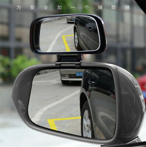 Adjustable Car Wide Angle Auxiliary parking Rear Mirrors Coverage Blind Spot