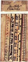 SSS Tim Holtz Idea-ology RULER PIECES Vintage Rustic School Student