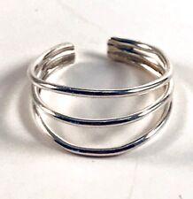 Adjustable Sterling Silver Toe Ring