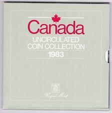 1983 juego de moneda Uncirculated Canadá *** *** Coleccionistas
