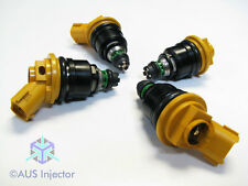 Set of 4 AUS HIGH FLOW Side Feed Racing Injectors 550cc fit SUBARU [10933-550-4]