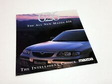 1997 Mazda 626 Preview Advertising Insert Brochure - UK Version