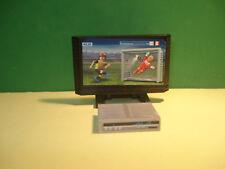 Playmobil Fernseher Mit DVD ¡Zustand Neu