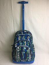 J World New York Girls' Sunrise Rolling Fashion Backpack One Size