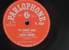 78rpm LAURIE LONDON cradle rock / whole world in his hands