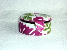 Vera Bradley Little Keepsake Box Julep Tulip Cotton Floral Free Shipping $16