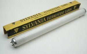 Vintage Sylvania F15T12/WW Fluorescent Preheat Lamp Light Bulb 15W Warm White