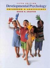 Developmental Psychology: Childhood and Adolescence,David Shaf ,.9780534363611