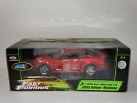 Ertl Joyride Fast And Furious 2003 Ford Saleen Mustang 1:18 Scale Diecast Car
