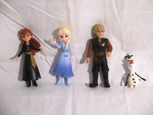 """Frozen Action Figures 4"""" (Ana, Olaf, Kristoff, and Elsa)"""