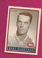 RARE 1992-93 OPC # 58 CANADIENS BERT OLMSTEAD  FANFEST LIMITED /5000 CARD