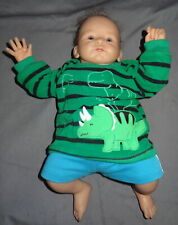 "Ashton Drake Lifelike 17"" Baby Doll Created by Master Artist Tasha Edenholm 4 lb"