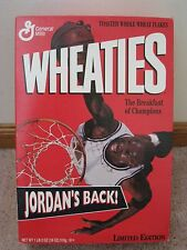 Michael Jordan Wheaties/ Going for Dunk box