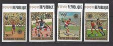 BURUNDI - C158 - C161 -- IMPERF - MNH - 1972 - 11TH WINTER OLYMPICS, SAPPORO