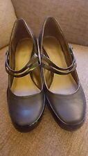 NEW CLARKS BLACK PATENT LEATHER SHOES SIZE 7