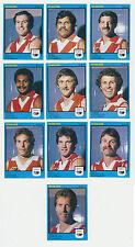 1982 Scanlens West Australian WAFL MINT South Fremantle Team set 10 cards