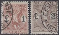 ITALY Regno - Vaglia - Sassone n.4-5 - used
