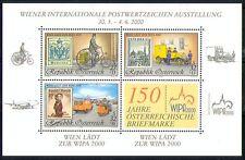 Austria 2000 moto/furgone/Piano/Trasporto/post/WIPA/stampex/S-On-S 3v M/S (n29853)