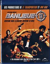 NEW BLU-RAY // BANLIEUE 13 (DISTRICT 13)  David Belle, Patrick Olivier, Tony D'A