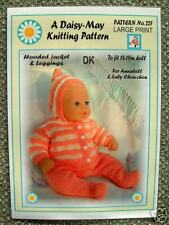 1 Dolls knitting pattern for Annabell by Daisy-May 18 to 19 inch doll *No.227