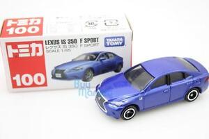 Takara Tomy Tomica #100 Blue - Lexus IS F Sport Scale 1/65 Diecast Toy Car Japan