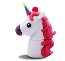 Pendrive 16GB in silicone Unicorno USB Flash Drive Memory Gift idea regalo