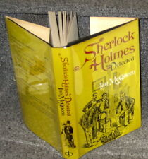 SHERLOCK HOLMES DETECTED PROBLEMS OF LONG STORIES BY IAN MCQUEEN 1974 1ST ED DJ