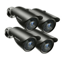 4x HD 2500TVL Bullet 1080P 100ft CCTV Security Cameras Outdoor Night Vision Home