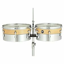 """Meinl 13"""" & 14"""" Hybrid Timbales HYT1314"""